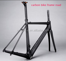 China oem high quality carbon fiber T800 road racing bike frame