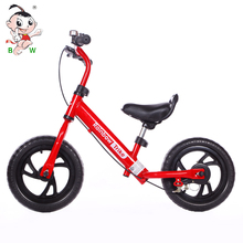 Factory cheap no pedal walker running steel baby bicycle 12 inch aluminum kids balance bike