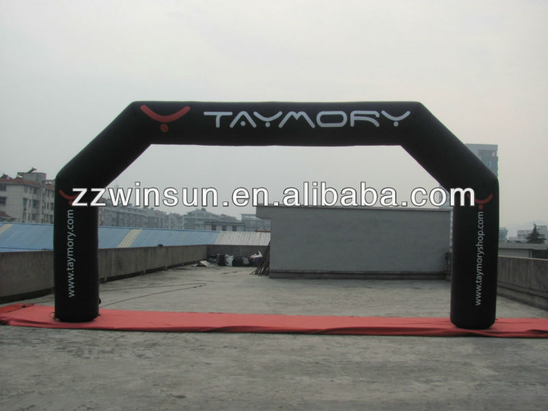 Custom inflatable balloon arch, promotion tent for Spain