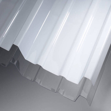 cars wind deflector grey\white\clear polycarbonate plastic corrugated roof sheet for sale