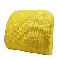 Portable Memory Foam Mesh Car Back Support Lumbar Support Cushion For Seat Cars