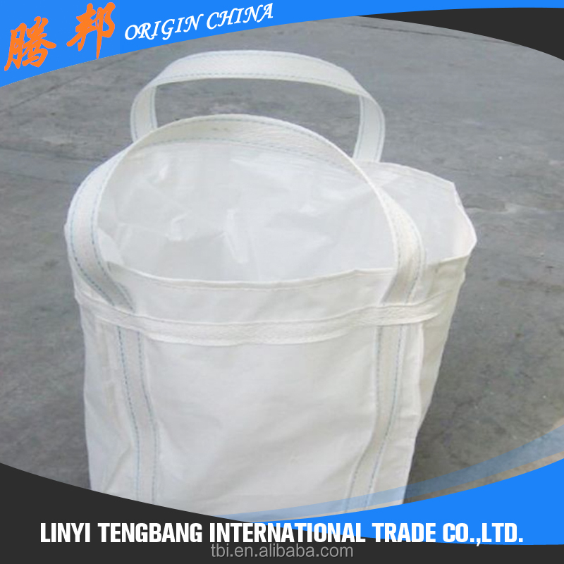 breathable pp woven big Bag/FIBC for Firewood Packing transparent pp jumbo bag