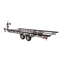 Inflatable Boat Transport Trailer Kit Sales For Motorboat and Yacht