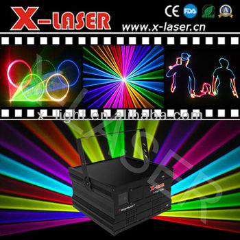 Super VOICE CONTROL 5W beam+animation laser light come from China