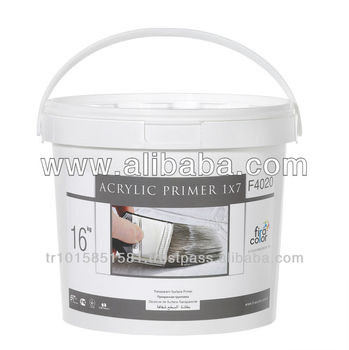 Acrylic Primer 1X7 dense concentration undercoating with high penetration and adherence.