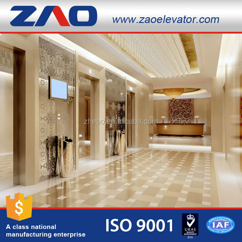 Luxury Commercial Machine Room Less Elevator Passenger Lift