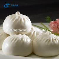 2017 New food grade steamed siopao making machine momo production line