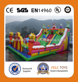 inflatable fun city/gaint inflatable playgrounds /inflatable game