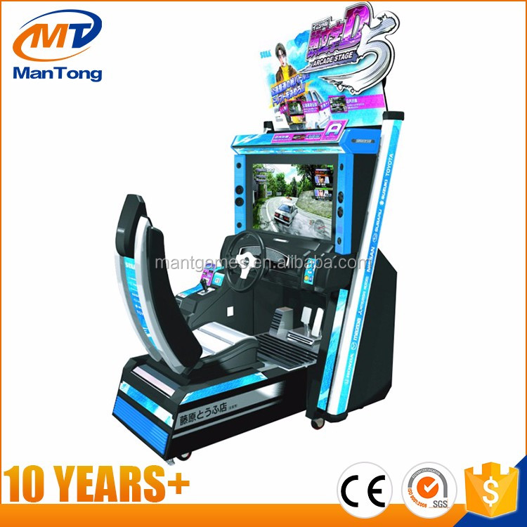 Hot Sale Car Racing Arcade Game 3D Motion Driving Simulator Game Machine For sale