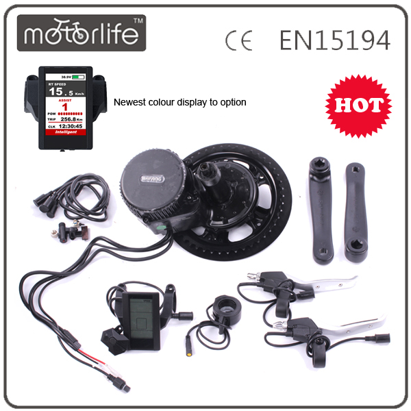 2017 Hot Sale Bafang 8fun BBS01 36v 250w mid drive motor electric bike kit China