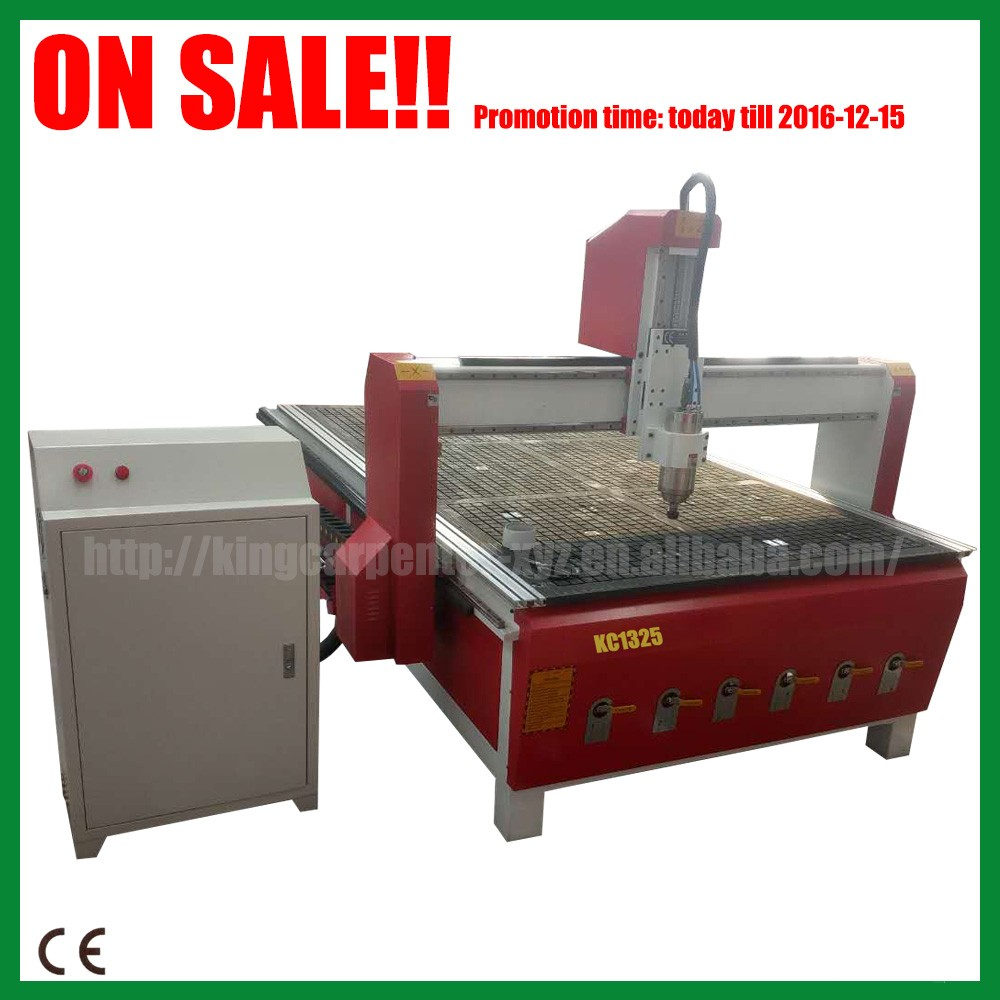 High quality wood cutting machine price KC1325 furinture making equipment of cnc router