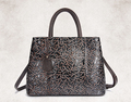 High-quality unique design women's embossed leather bag