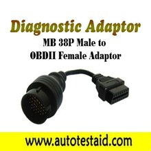 MB 38P Male to OBDII Female Adaptor