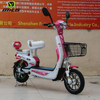 16 inch 350W steel mini electric motorcycle kids e scooter electric chopper bike for sale