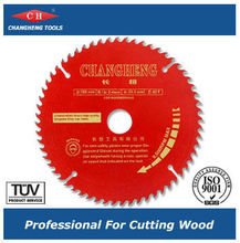 Professional Red saw disc/Circular Saw Blade for Cutting Wood