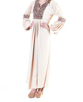Long Sleaves Dubai Made Designer Islamic Dress GUS016