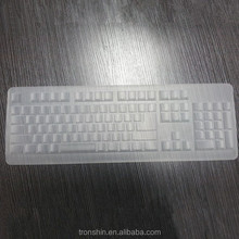 Food grade custom made language desktop silicone keyboard protector for LG
