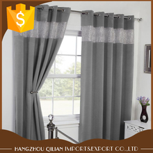 Wholesale Cheap Custom Design Diamante Eyelet Blackout Curtains