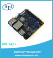 Circuit board banana pi m2+ with wifi chip
