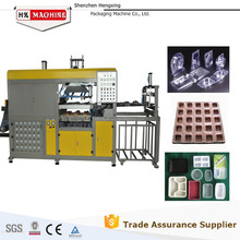 automatic Plastic Vacuum Forming Machine making Mobile phone charger packaging