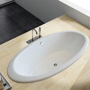 China Factory supply NH-027 drop in enamel cast iron bath tubs for hotel