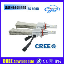 New Led G6 car head light, 40w 5000lm car led headlight 9005 9006 HB3 HB4 in 6s LED With cooper belt