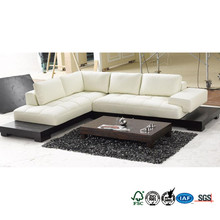 Sofa China Manufacturer Professional Furniture Factory Guangdong L Shaped Leather Sofa