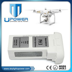 Replacement smart intelligent Lithium-polymer battery low price phantom 3 advanced drone battery