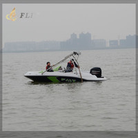 China personal small mini yach manfature used sport water jet boat motor engine passenger speed boat for sale price