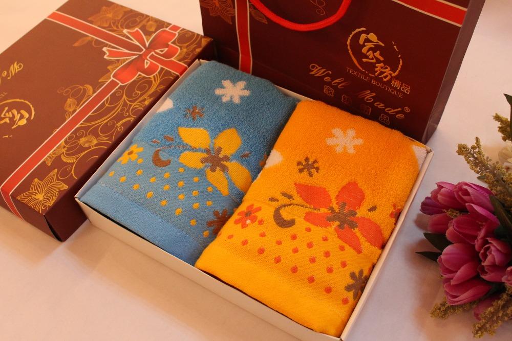 Упаковка полотенца на подарок 24