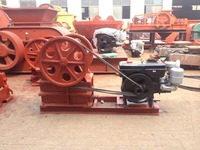 Mineral ore jaw crusher, diesel engine jaw crusher with high performance