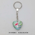 Heart shape exclusive design keychain souvenir