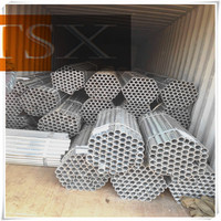 Mild ERW hot dip galvanized steel water pipe