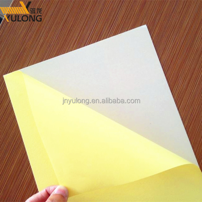 1mm 1.5mm Yellow Paper Packed Photo Album Inner Page PVC Sheet