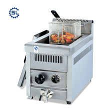 counter top frying chicken wing machine/chicken wings fryer machine