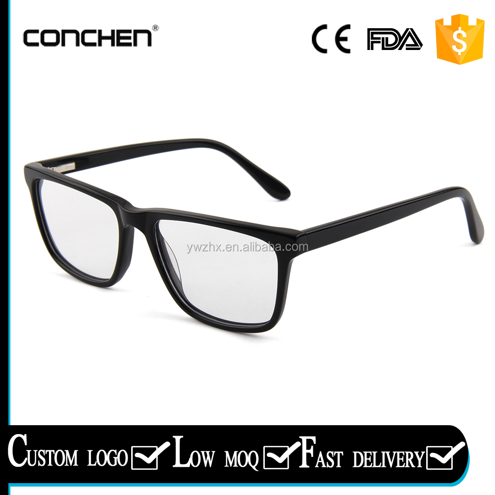 Conchen new arrival prescription eyewear unisex eyeglasses changeable frames