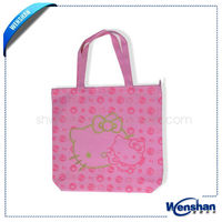 pictures printing non woven shopping bag with any design