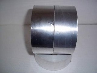 aluminum foil mylar tape for air duct