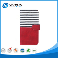High Quality Alibaba China good sewing leather case for iphone 5