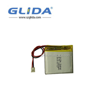 High capacity customizable rechargeable 3.7V Li-polymer battery