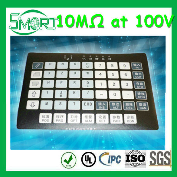 High Quality~~HOT~Smart bes~backlight membrane switch panel,100mA emboss tactile membrane switch,1W custom-made membrane switch