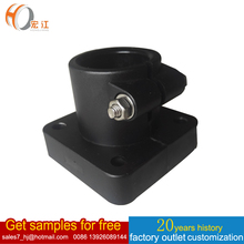 Conveyor plastic component H198 POLY square shape 95*95 support heads Connecting Joints