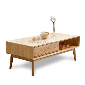 modern houseware solid wood coffee table