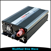 1000W 1KW 12V DC To 220V AC USB Charge light Car Modified Sine Wave Frequency Inverter 50HZ 60HZ