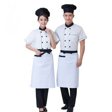OEM grosir bernapas ganda breasted restaurant cooking chef seragam