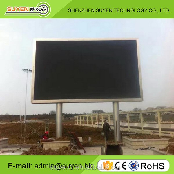 Front access full color HD video P8 outdoor fixed led display