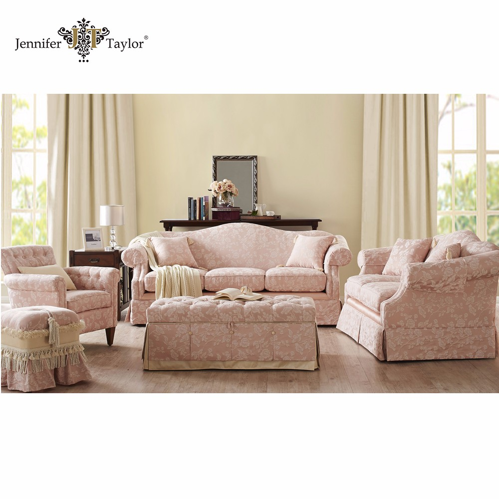 Traditional Style Wedding Wooden Sofa Set Living Room