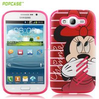 bulk custom protective cell phone case for samsung I9080 case