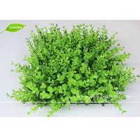 BOX014-4 GNW artificial boxwood mat for vertical green wall decoration grass panel
