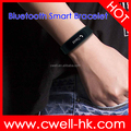 2016 Bithealth Z2 0.91inch OLED Touch Key TPU Wirstband Bluetooth Notification Good Smart Bracelet Heart Rate
